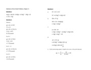 Handout Ch 3 - Extra Solutions