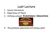 Lecture2 Plant Cell