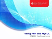 L12 Using PHP and MySQL(Query)