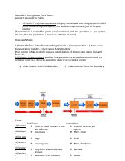 Operations Management PALSI Notes Lecture 5.docx