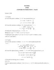 Term Test 2 (solutions)