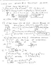 math241 spring04 exam2 solutions