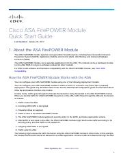 ASA-FP Quick Guide