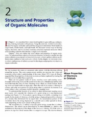 Ch 2 - Structure and Properties of Organic Molecules