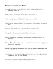 Principles of cooking 1 chapter 10 degrees f braising a long slow principles of cooking 1 chapter 10 degrees f braising a long slow cooking process that combines browning and simmering to make tough cuts of meat altavistaventures Image collections