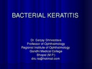 Keratitis for UG