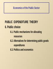 Public expenditure theory3.ppt