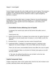 Chapter 5 – Cost of Capital .docx