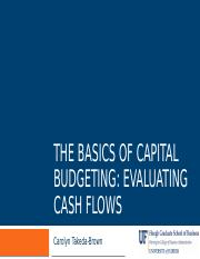 Ch 10 Capital Budgeting class (1)