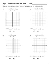 conic sections homework worksheet 10 6 algebra 2h identify the conic. Black Bedroom Furniture Sets. Home Design Ideas