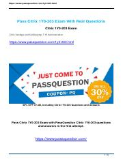 Passquestion 1Y0-203 exam questions.pdf