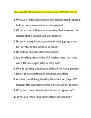 Tobacco Book Assignment (1).docx
