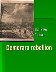 Demerara rebellion.ppt