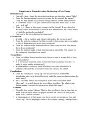 Peer Review Questions to Consider - Evaluation.docx