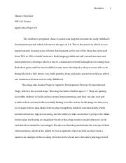 PSY 231 Application Paper.docx