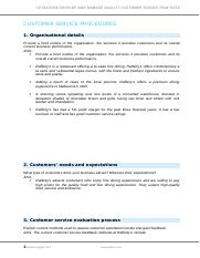 Assessment D_Customer service procedures(1)(1).docx