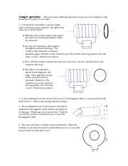Inductance review questions