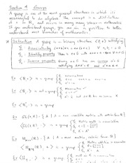 Homework J Solutions on Algebraic Structures and Functions