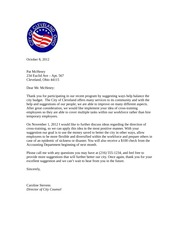 GAD 250 - Accepting Suggestions Letter