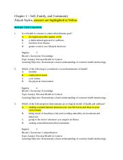 Chapter 1 Test Fall 15 Answers -Aliyah Taylor.docx