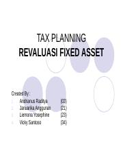 TAX PLANING.ppt