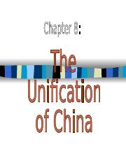 8 - The Unification of China.ppt