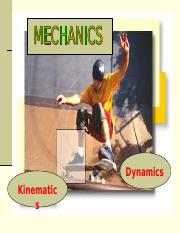Kinematics.ppt