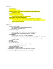 CHY204 - Cheat Sheet Notes.docx