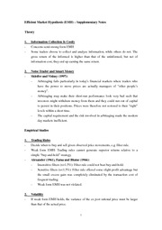 "ECON 3420 Notes 5a [EMH â€""  Supplementary Notes]"