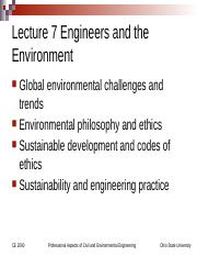 Lecture+7+Engineers+and+the+Environment