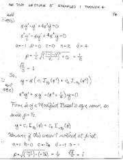 ME 7000 Lecture 5 example problems