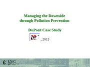 Day 10 - Pollution Prevention and DuPont-to post
