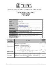 adm3301 final exam rim jaber View test prep - 2 sample final exam adm3301 from adm 3301 at university of ottawa sample final exam adm 3301: production and operations management professor: rim jaber time: three (3.