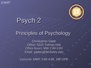 Lecture 12 _Behaviorism and Classic Conditioning_