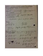 Section 2.3 Derivatives Power Rule