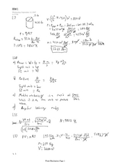 Fluid Mechanics HW1