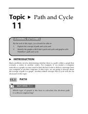 13160040Topic11PathandCycle