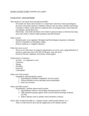Exam 2 Study Guide PSY 322