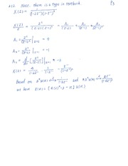ECE 455 Fall 2013 Tutorial 9 Solutions
