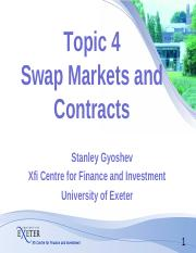 Topic 04 Swap Markets and Contracts (1).pdf