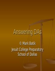 Answering_DAs.ppt