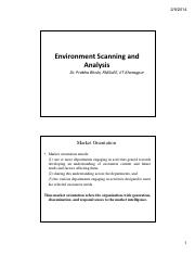 Environment Scanning and Analysis[Compatibility Mode] (2)