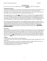 ENG 222 In-class Essay Guidelines.docx