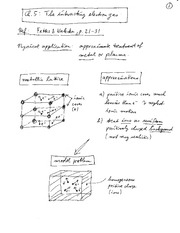 Physics 365_Class Notes on The Interacting Electron Gas
