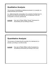 lesson 2 section 6.1 quality vs quantity analysis