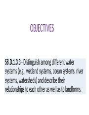 S8.D.1.3.3 Water Systems and S8.D.1.3.4 Stream Characteristics