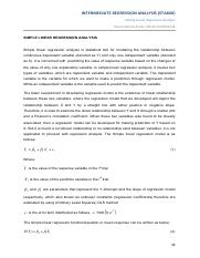 notes 2-Simple Linear Regression Analysis-3.3.2014