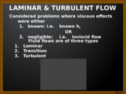 VISCOUS FLOW CHAPTER 6