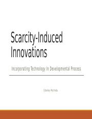 Stanley- Week _ Scarcity-induced innovations