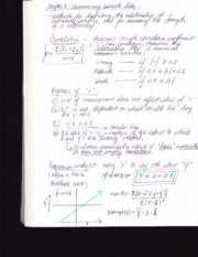 Stat 110 notes-bivariate data
